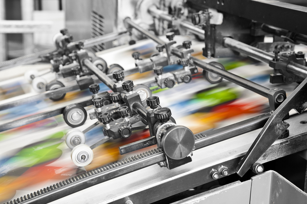 Offset printing for full color magazines and catalogues by PCA Delta